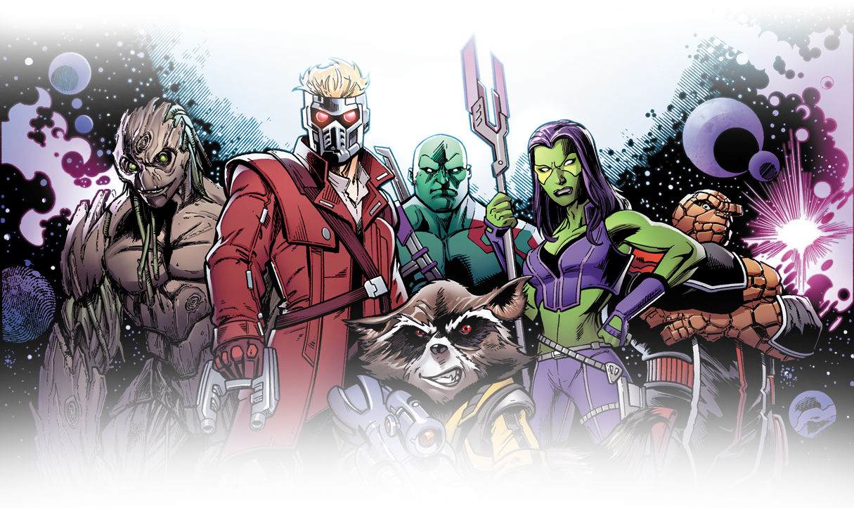 Comics Guardians of the Galaxy