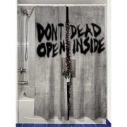Duschvorhang - Dead Inside 180 x 180 cm - The Walking Dead