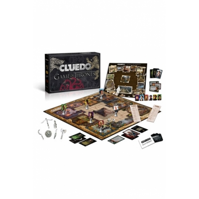 Game of Thrones Brettspiel Cluedo Collectors Edition, Deutsch