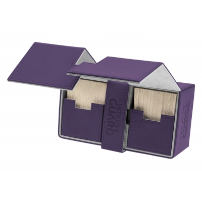 Ultimate Guard Twin Flip´n´Tray Deck Case 200+ Standardgröße XenoSkin Violett