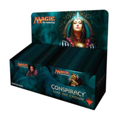 MTG - Conspiracy Take the Crown Booster Display, English