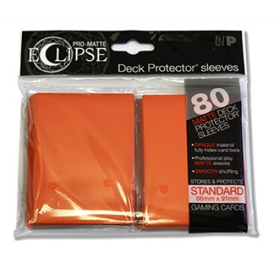 UP - Standard Sleeves - Eclipse - Orange (80 Sleeves)
