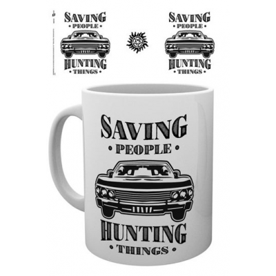 Supernatural Tasse Hunting Things