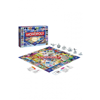 Disney Classic Board Game Monopoly, German