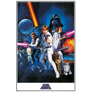 Poster - A New Hope 61 x 91 cm - STAR WARS