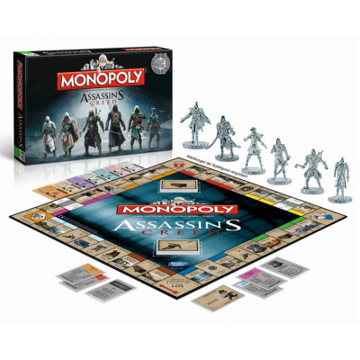 Assassins Creed Board Game Monopoly, German