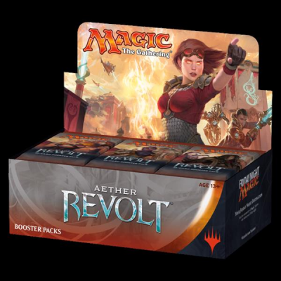MTG - Aether Revolt Booster Display, Englisch