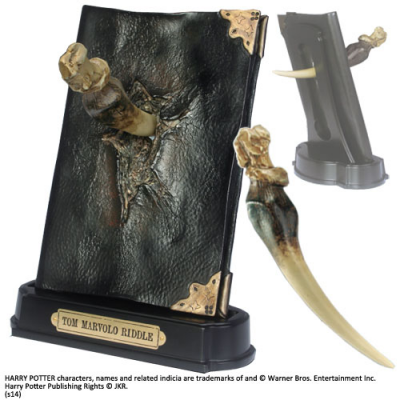 Replica - Tom Riddle Diary and Basilisk Fang 1/1 - Harry...