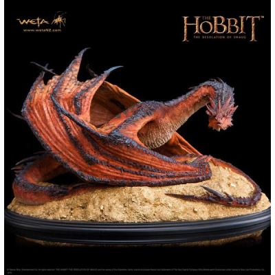Statue - Smaug The Terrible 1/72 52 cm - The Hobbit, The...