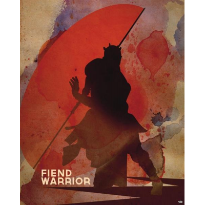 Sheet Metal Sign - Fiend Warrior, 45 x 28 cm - STAR WARS