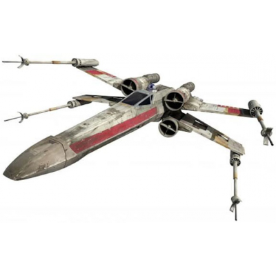 Star Wars IV A New Hope Diecast Modell X-Wing Starfighter Red Five Elite Edition 15 cm