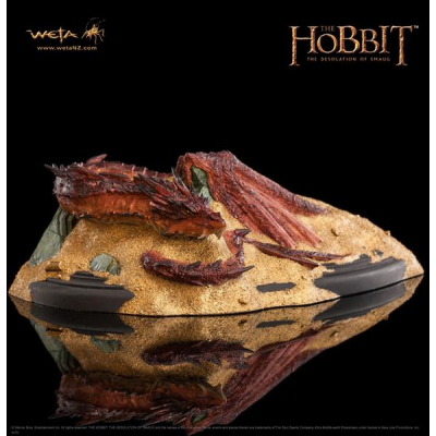 Statue - Smaug, King Under The Mountain 8 cm - The...