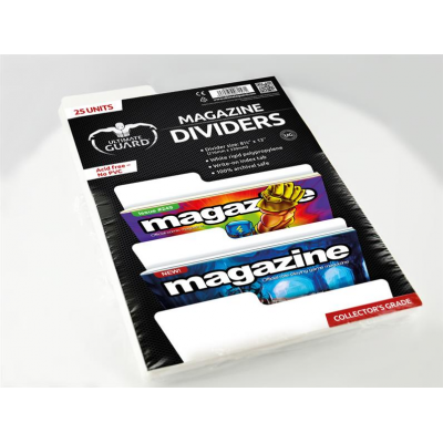 Magazine Dividers - White (25) - Ultimate Guard