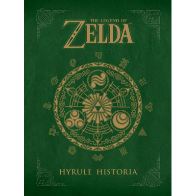 The Legend of Zelda - Artbook Hyrule Historia, Englisch