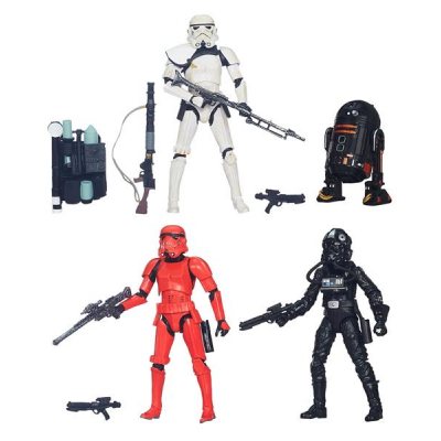 Black Series Action Figure - Trooper Vision 4-Pack 2015...