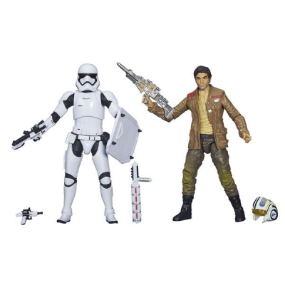 Black Series Action Figure - Poe Dameron & Stormtrooper...