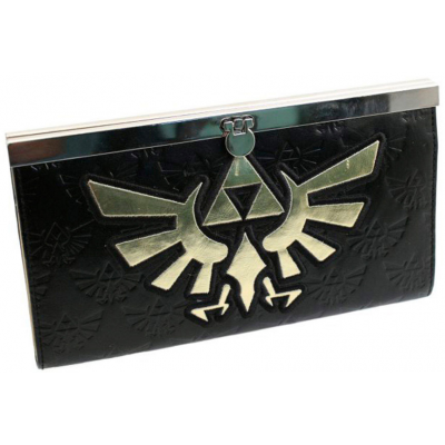 The Legend of Zelda Wallet Zelda Golden Logo