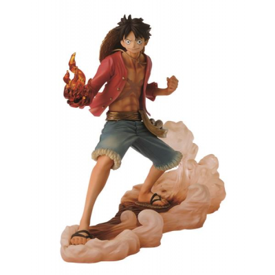 DXF Brotherhood II Figur - Monkey D. Ruffy 14 cm - One Piece