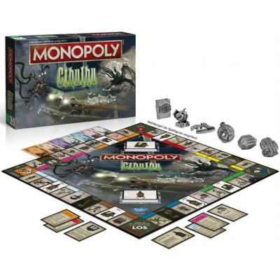 Cthulhu Board Game Monopoly, German