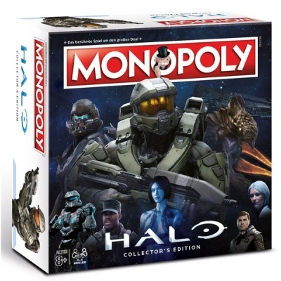 Halo Board Game Monopoly, German