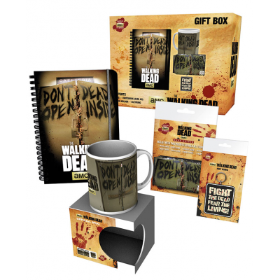 Walking Dead Gift Box Dont Open