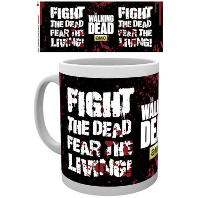 Walking Dead Mug Fight The Dead