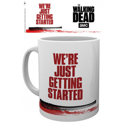Walking Dead Mug Were Just Getting Started