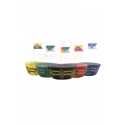 Harry Potter Cupcake Baking Cups and flags Assortment (100)