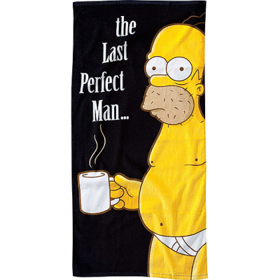 Simpsons Handtuch The Last Perfect Man 75 x 150 cm