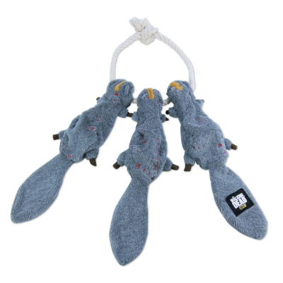 Chew Toy - Daryls Squirrels on a Robe Plush 52 cm - The...