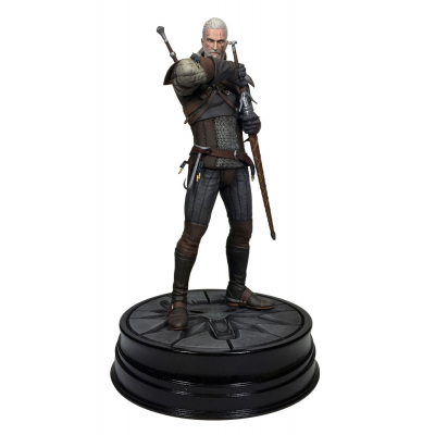 PVC Statue - Geralt of Riva 20 cm - Witcher 3, Wild Hunt