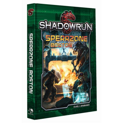 Shadowrun 5: Sperrzone Boston (Hardcover)