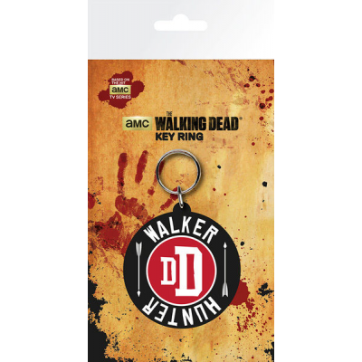 Walking Dead Gummi-Schlüsselanhänger Walker Hunter 7 cm