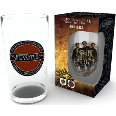 Supernatural - Logo Pint Glass