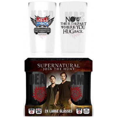 Supernatural - Dean and Sam Large Twin Pack