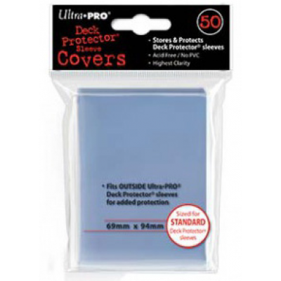 UP - Deck Protector Sleeve Covers (50 Sleeves)