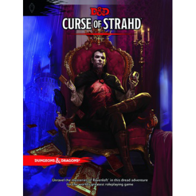 Dungeons & Dragons RPG - Curse of Strahd, Englisch