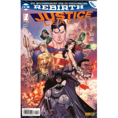 Justice League (Rebirth) 01, limitiertes Variant (TV...