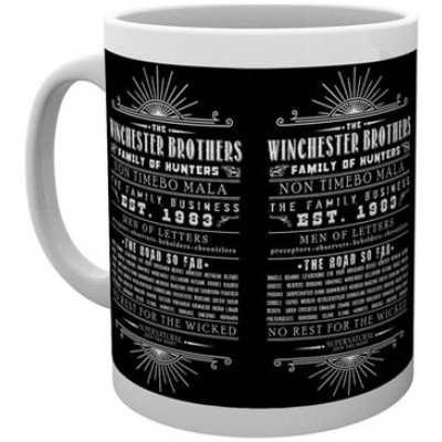Supernatural Tasse Family Business