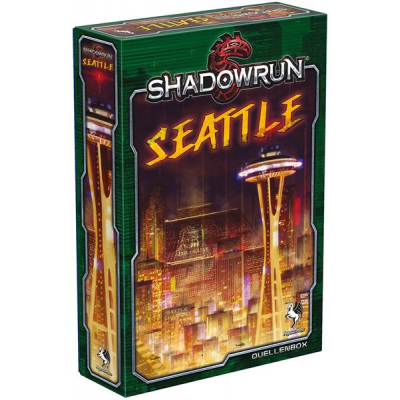 Shadowrun 5: Seattle - Stadt der Schatten (Box)
