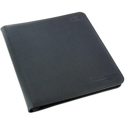 Ultimate Guard 12-Pocket QuadRow ZipFolio XenoSkin Schwarz