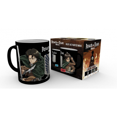 Attack on Titan Tasse mit Thermoeffekt Scouts