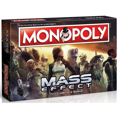 Mass Effect Board Game Monopoly, German