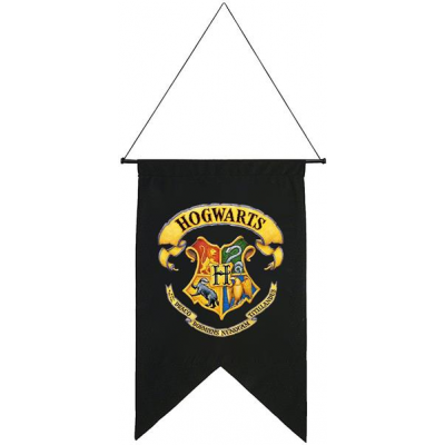 Harry Potter Printed Wall Banner Hogwarts 50 x 76 cm