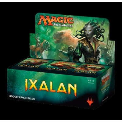 MTG - Ixalan Booster Display, German