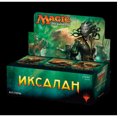 MTG - Ixalan Booster Display, Russian