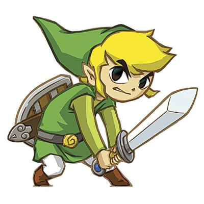 The Legend of Zelda Giant Vinyl Sticker Spirit Tracks
