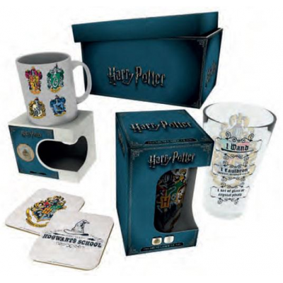 Harry Potter Geschenkbox Crests