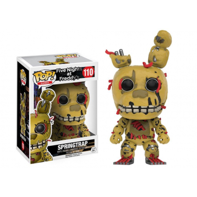 Five Nights at Freddys POP! Games Vinyl Figure Springtrap...