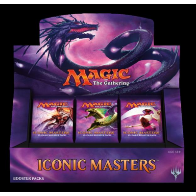 MTG - Iconic Masters Booster Display, Englisch